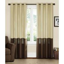 Walmart Grommet Top Curtains by White Cotton Voile Curtains Set Of 2 Window Doors And Office Plan