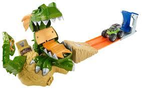 100 Hot Wheels Monster Truck Track Jam Dragon Arena Attack Playset Shop