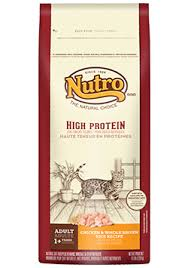 high protein cat food nutro high protein cat food chicken whole brown rice recipe