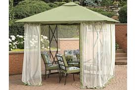Mosquito Netting For Patio Umbrella Black by Replacement Insect Netting For Gazebos The Outdoor Patio Store