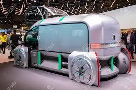 100 Pro Stock Truck PARIS OCT 2 2018 Renault EZ Concept Truck Presented At
