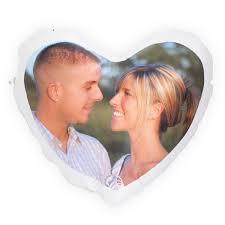 coussin avec photo personnalise coussin coeur personnalisé avec vos photos pour votre amour