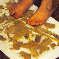 Wood Shavings Contact Paper