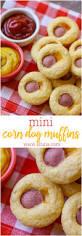 Halloween Hotdog Fingers by Mini Corn Dog Muffins Lil U0027 Luna