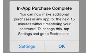 How to turn off in app purchases on iPhone and iPad