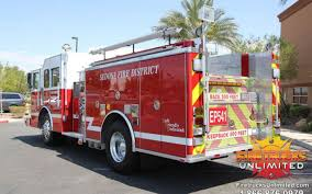100 Fire Trucks Unlimited Sedona District 2001 KME Pumper Refurbishment Trucks Hot