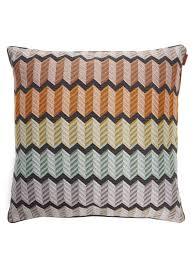 100 Missoni Sofa Waterford Zigzag Jacquard Cushion Home