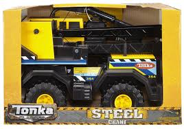 Fingerhut - Tonka Classic Steel Mighty Crane