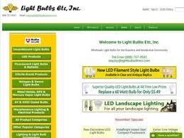 light bulbs etc inc 3 5 by 8 consumers