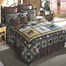 Moose Bedding Guest Rm 2
