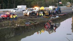 100 Tow Truck Accident Driver Dies In Crash On Turner Turnpike Near Kellyvill