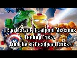 Lego Marvel Superheroes That Sinking Feeling 100 by How To Get X6 Red Brick In Lego Marvel Feeling Fisky Story And