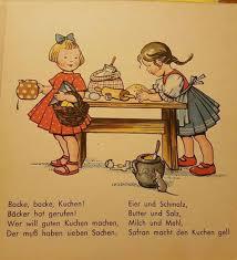 german school cus kinderlied backe backe kuchen