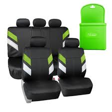 BESTFH: FH Group Neoprene Car Seat Covers For 5 Headrests Green W ...