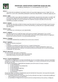 bureau des associations membre du bureau d une association source d inspiration statuts
