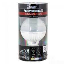 dimmable performance led g25 led light bulbs for home
