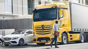 100 Benz Trucks Greater Safety Mercedes