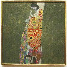 Famous Paintings Klimt Hope II Painting