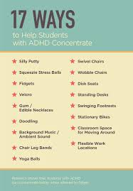 Types Of Chair Legs by 17 Ways To Help Students With Adhd Concentrate Edutopia
