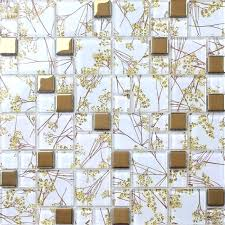 Attractive Audacious Room Wall Tiles Texture Mixed Golden Mosaic Kitchen Bedroom Living And