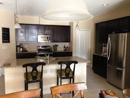 Paint Colors For Cabinets by Paint Color For Kitchen With Espresso Cabinets Neutral Granite