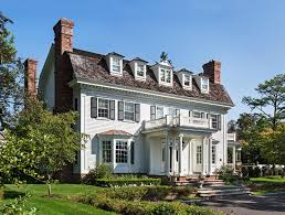 100 Dutch Colonial Remodel Style House Greenwich CT Wadia Associates