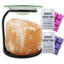 himalayan salt l melt burner melt pack combo aroma addiction