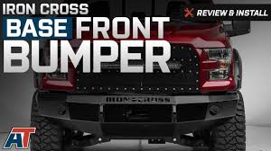 2015-2017 F150 Iron Cross Base Front Bumper Review & Install - YouTube