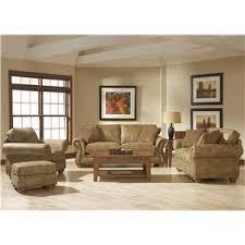 Broyhill Laramie Microfiber Sofa In Distressed Brown by Broyhill Furniture Laramie 3 Piece Wedge Sectional Sofa Wayside