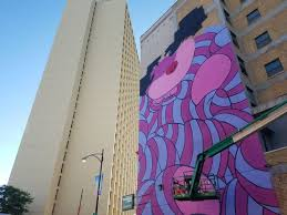 Big Ang Mural Chicago photos huge mural by jerkface overlooking noble square completed