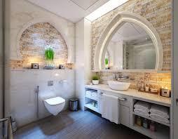ideen für ein mediterranes bad mit naturmaterialien und