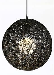 modern kreative gewebte runde kugel bird es nest rattan