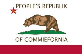 California State Flag For The Unarmed Or Disarmed
