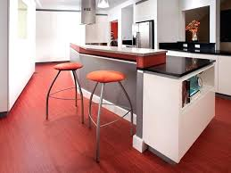 Various Vinyl Flooring Kitchen Beautiful Red Texture Design Ideas Orange Bar Stool Black High Gloss Wood Tiles