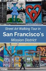 Chicano Park Murals Map by Take A Street Art Tour Of The San Francisco Mission Neighborhood