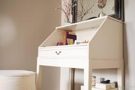 Ikea Secretary Desk With Hutch by Diy Repurposed Ikea Desk Personally Andrea Diy Repurposed Ikea Desk