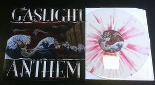 popsike com the gaslight anthem sink or swim vinyl lp white red