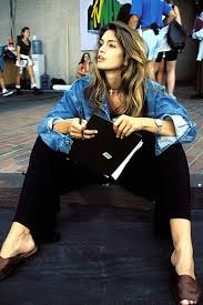 Cindy Crawford Denim Sofa Cover by Cindy Crawford U0027s Best Denim Moments How To Style Jeans Vogue