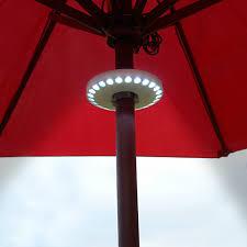 Tilt Patio Umbrella With Lights by Led Lights Patio Umbrella Design And Ideas