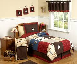 Sweet Jojo Designs Crib Bedding by Kids Cowboy Bedding For Boys Twin Full Queen Comforter Sets