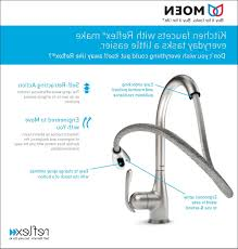 Pull Down Kitchen Faucets Moen by Kitchen Moen Single Handle Kitchen Faucet With Regard To Leading