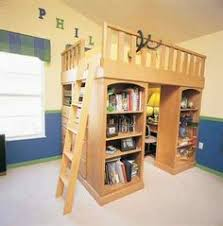queen loft bed plans Google Search For the Home