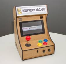Mini Arcade Cabinet Kit Uk by Mini Pi Powered Arcade Machine 12 Steps With Pictures