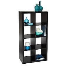 Brenton Studio Cube Bookcase 8 Cube Black by fice Depot & ficeMax