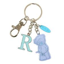Me To You Tatty Teddy Bear Letter R Keyring With Charms By Carte