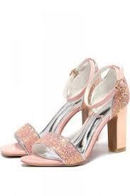 LC Lauren Conrad Rosinca Women s Velvet Platform High Heels