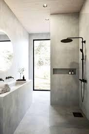 elegantes badezimmer sichtbeton bad inspiration