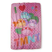 Ninja Turtle Twin Bedding Set by Teenage Mutant Ninja Turtles I Love Tmnt Blanket Pink Twin