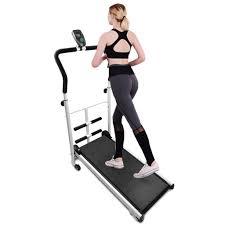 laufband manuell klappbar heimtrainer home fitnessgerät mit sit ups led anzeige fitnessgeräte heimtrainer maximale belastung 100 kg
