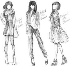 Gallery For Tumblr Drawings Clothes